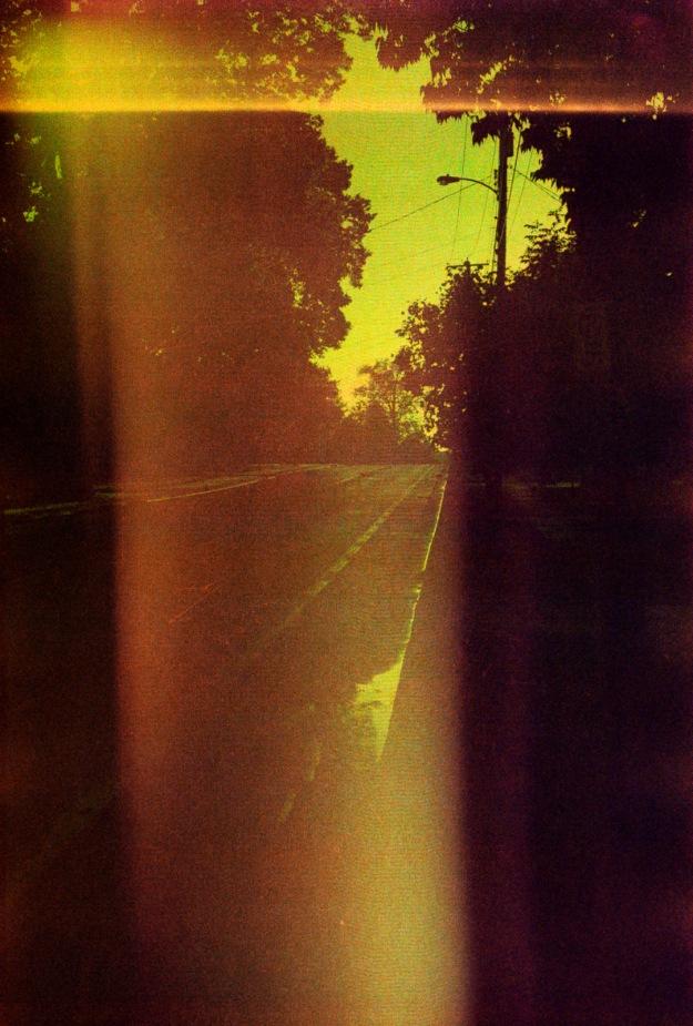 Sunset Street  (Fed 3b, Kodak Royal Gold 400 expired)