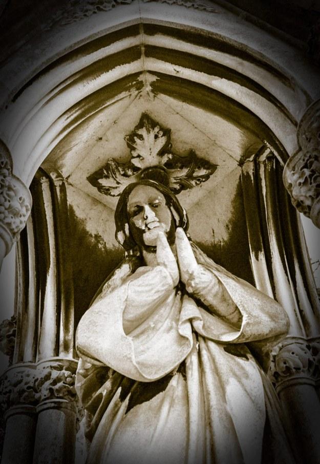 Praying Under Cover.