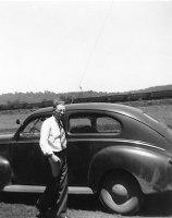 Grandpa with a stick shift.