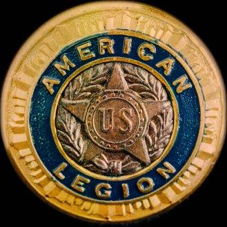Grandpa's American Legion pin.