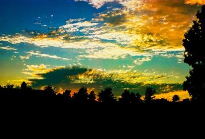 """Sunset Farm"" Canon F-1, Kodak Portra 400"